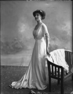Joan Marion (née Nevill), Marchioness of Camden, by Bassano Ltd - NPG x33078