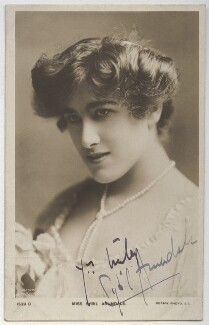 Sybil Arundale (née Rosa Maria Kelly), by Johnston & Hoffmann, published by  Rotary Photographic Co Ltd - NPG x331