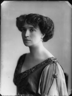 Olive Crofton (née Schneider), Lady Smith-Dorrien, by Bassano Ltd - NPG x33133