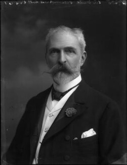 Sir David Lionel Goldsmid-Stern-Salomons, 2nd Bt, by Bassano Ltd - NPG x33156