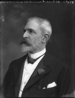 Sir David Lionel Goldsmid-Stern-Salomons, 2nd Bt, by Bassano Ltd - NPG x33157