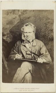 Edwin Landseer, by John & Charles Watkins - NPG x12145