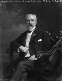 Sir David Lionel Goldsmid-Stern-Salomons, 2nd Bt, by Bassano Ltd - NPG x33160
