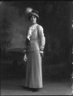 Evelyn Grace Mary Hill (née Foster), Marchioness of Downshire, by Bassano Ltd - NPG x33184