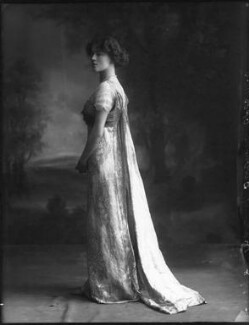 Evelyn Grace Mary Hill (née Foster), Marchioness of Downshire, by Bassano Ltd - NPG x33185