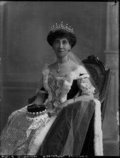 Charlotte Mary (née Stopford), Viscountess Barrington, by Bassano Ltd - NPG x33234