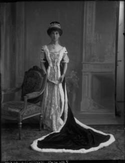 Charlotte Mary (née Stopford), Viscountess Barrington, by Bassano Ltd - NPG x33235