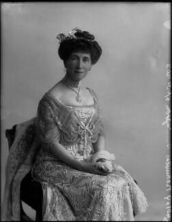 Charlotte Mary (née Stopford), Viscountess Barrington, by Bassano Ltd - NPG x33239