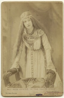 Ruth Vincent in 'The Beauty Stone', by Alfred Ellis - NPG x33265