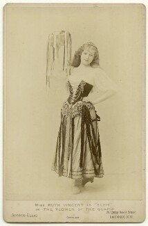 Ruth Vincent as Elsie in 'The Yeomen of the Guard', by Alexander Corbett, for  Alfred Ellis - NPG x33266