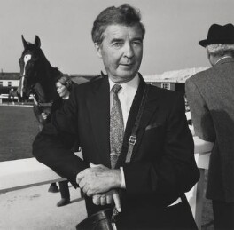 Dick Francis, by John Benton-Harris - NPG P792