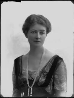 Janetta Hope Gonville Birdwood (née Bromhead), Baroness Birdwood, by Bassano Ltd - NPG x33324