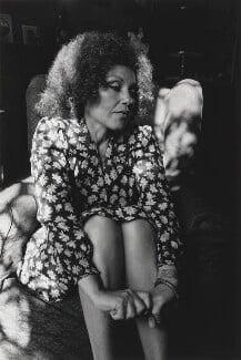 Cleo Laine, by John Benton-Harris - NPG P793