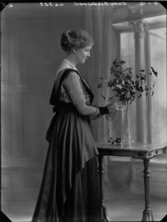 Janetta Hope Gonville Birdwood (née Bromhead), Baroness Birdwood, by Bassano Ltd - NPG x33329