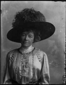 Mary Frances (née Linton), Lady Brinckman, by Bassano Ltd - NPG x33347