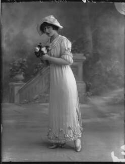 Yvonne Arnaud, by Bassano Ltd, 17 October 1912 - NPG x33371 - © National Portrait Gallery, London