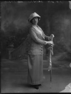 Yvonne Arnaud, by Bassano Ltd, 17 October 1912 - NPG x33374 - © National Portrait Gallery, London
