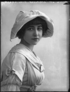 Yvonne Arnaud, by Bassano Ltd, 17 October 1912 - NPG x33376 - © National Portrait Gallery, London