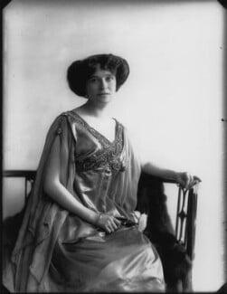 Olive Crofton (née Schneider), Lady Smith-Dorrien, by Bassano Ltd - NPG x33399