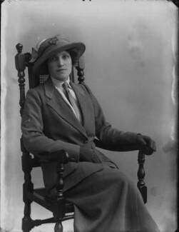 Annie (née Breese), Lady Innes-Ker, by Bassano Ltd - NPG x33459