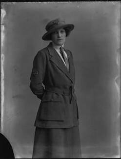 Annie (née Breese), Lady Innes-Ker, by Bassano Ltd - NPG x33460