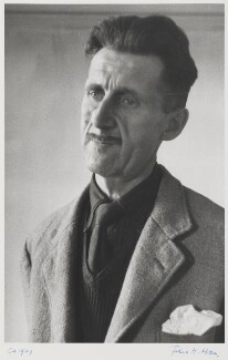 George Orwell, by Felix H. Man - NPG P865