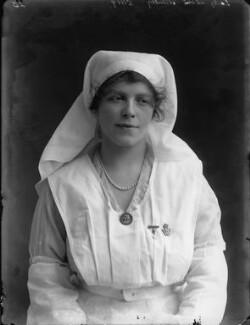 Grace Lowrey (née Woodruff), Lady Ashfield, by Bassano Ltd, 22 February 1918 - NPG x33469 - © National Portrait Gallery, London