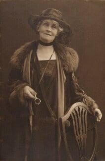 Emmeline Pankhurst, by (Mary) Olive Edis (Mrs Galsworthy), 1920s - NPG x4332 - © National Portrait Gallery, London