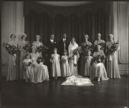 The Wedding of Lady May Cambridge and Henry Abel Smith, by Vandyk - NPG x33562