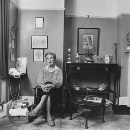 Stella Dorothea Gibbons (Mrs A.B. Webb), by John Hedgecoe - NPG P772