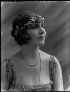 Marie Novello (née Williams), by Bassano Ltd, 6 June 1919 - NPG x33622 - © National Portrait Gallery, London
