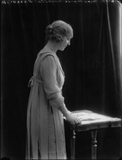 Marie Novello (née Williams), by Bassano Ltd, 6 June 1919 - NPG x33624 - © National Portrait Gallery, London