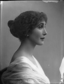 Joan Marion (née Nevill), Marchioness of Camden, by Bassano Ltd - NPG x33644