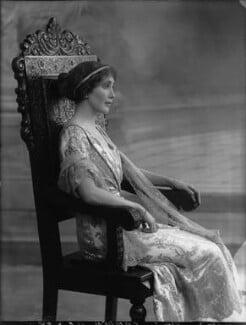 Joan Marion (née Nevill), Marchioness of Camden, by Bassano Ltd - NPG x33649