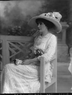 Joan Marion (née Nevill), Marchioness of Camden, by Bassano Ltd - NPG x33650