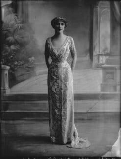 Joan Marion (née Nevill), Marchioness of Camden, by Bassano Ltd - NPG x33651