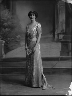 Joan Marion (née Nevill), Marchioness of Camden, by Bassano Ltd - NPG x33652