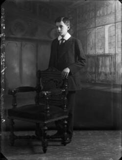 Roger Grey, 10th Earl of Stamford, by Bassano Ltd - NPG x33664