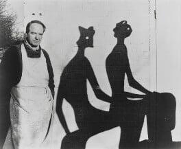 Henry Moore, by John Hedgecoe - NPG P774