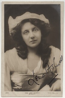 Lena Ashwell (née Lena Margaret Pocock, later Lady Simson) in 'Marguerite', printed by Rotary Photographic Co Ltd, circa 1904 - NPG x337 - © National Portrait Gallery, London