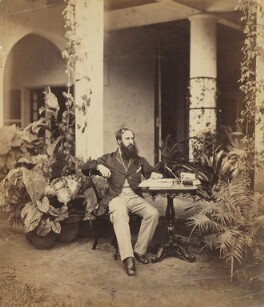 Unknown man of the Muncaster family, by Unknown photographer - NPG x33713