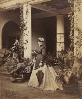 Unknown lady of of the Muncaster family, by Unknown photographer - NPG x33714
