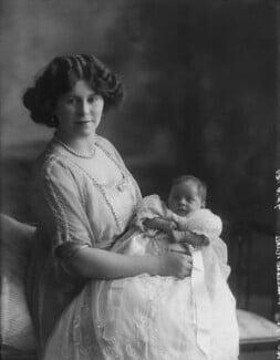 Betty Naldera Ali Rushby (née Khan); Dolly Parnell (Princess Nazir Ali Khan), by Bassano Ltd - NPG x33758