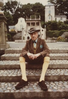 Sir (Bertram) Clough Williams-Ellis, by John Hedgecoe - NPG P780