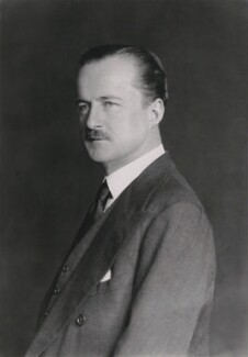 (Alfred) Duff Cooper, 1st Viscount Norwich, by Walter Stoneman, February 1938 - NPG x33864 - © National Portrait Gallery, London