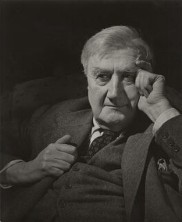 Ralph Vaughan Williams, by Douglas Glass - NPG x33970