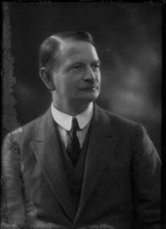 Sir John Cecil Power, 1st Bt, by Bassano Ltd - NPG x34208