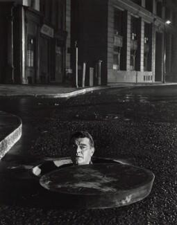 Jack Hawkins on the set of 'League of Gentlemen', by Ian Jeayes - NPG x34524
