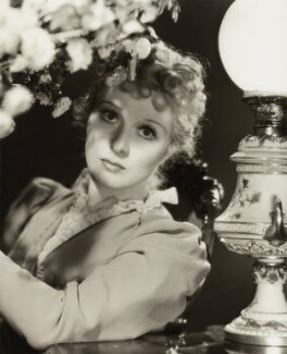 (Eileen Evelyn) Greer Garson as Katherine Chipping in 'Goodbye, Mr. Chips', by Davis Claude Boulton - NPG x34546