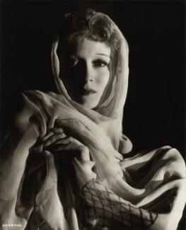 (Eileen Evelyn) Greer Garson, by Davis Claude Boulton, 1939 - NPG x34547 - © reserved; collection National Portrait Gallery, London